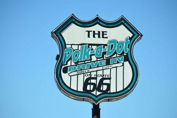 Polk a Dot Drive In Route 66 Braidwood Illinois