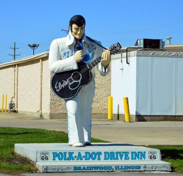 Polk a Dot Drive In Route 66 Illinois