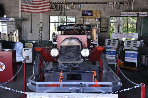 Musée intérieur Ambler's Texaco Gas Station à Dwight Route 66