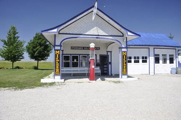 Standard Oil Gas Station à Odell Route 66