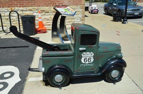 Voiturette Pontiac Route 66