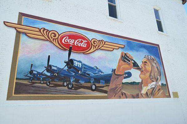 Mural Drink Coca Cola