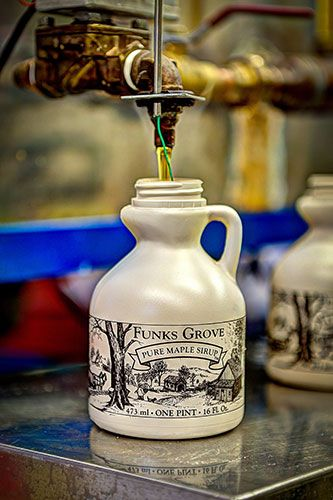 Funks Grove pure maple syrup Route 66