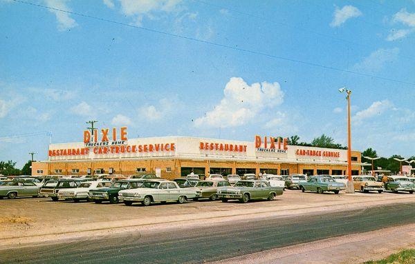 Dixie Truckers Home dans les années 60 Route 66