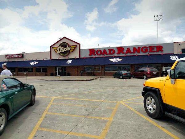 Le Dixie Truckers Home aujourd'hui Route 66