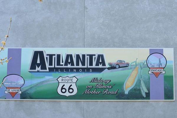 Murals Atlanta Illinois Route 66