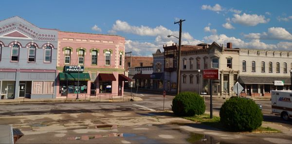 Lincoln, Broadway St. Route 66