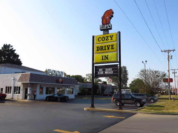 Cozy Dog Drive-in Southern View Illinois Route 66