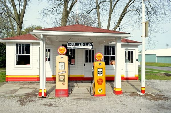 Soulsby Service Station Mount Olive Illinois Route 66