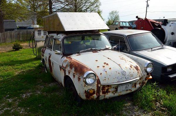 Volkswagen de Bob Waldmire Route 66