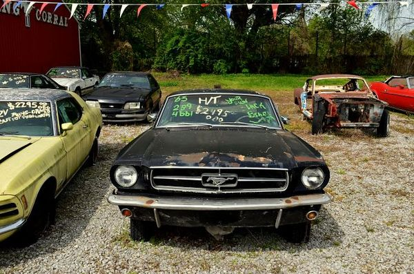 Mustang Coral Edwardsville Route 66