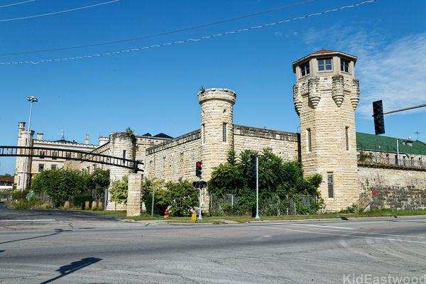 Prison des Blues Brothers et de Prison Break Joliet Illinois USA