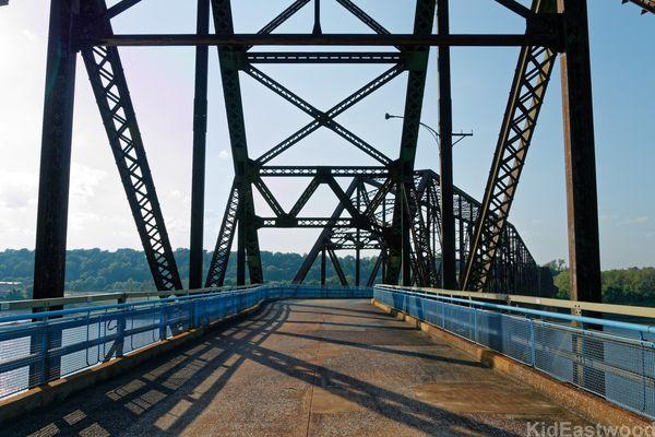 Chain of Rocks Bridge Madison Illinois