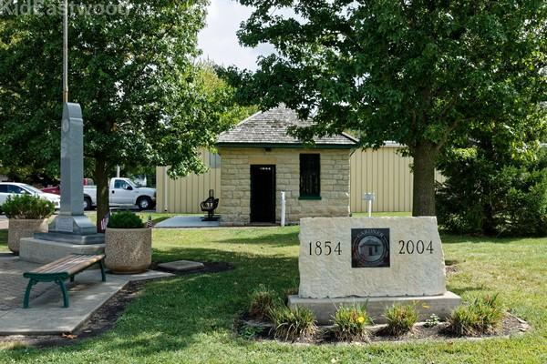 Two Cell Jail, Gardner Route 66 Illinois
