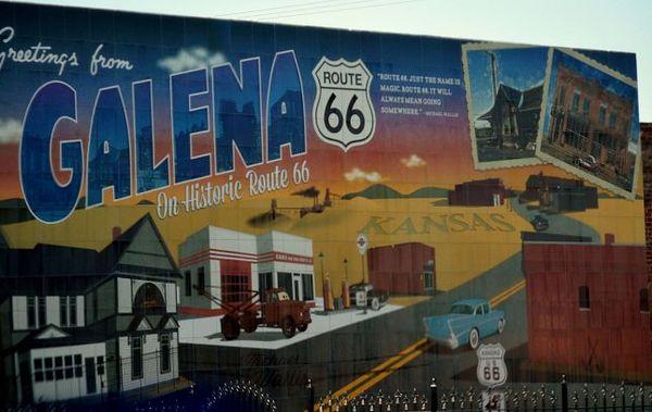 Murals of Galena, à l'angle de Main Street de la la 7th Street