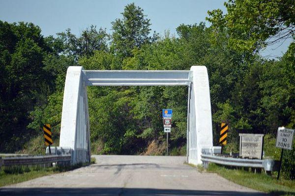 Rainbow Arch Bridge Kansas