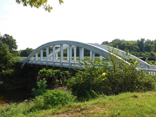 The Rainbow Arch Bridge Kansas Route 66