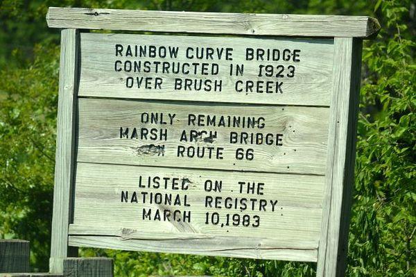 Panneau Rainbow Arch Bridge Kansas