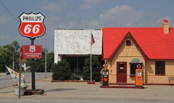 Route 66 Visitors Center Baxter Springs Kansas