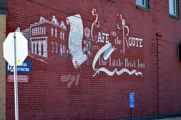 Mural Cafe on the Route Baxter Springs Kansas Route 66