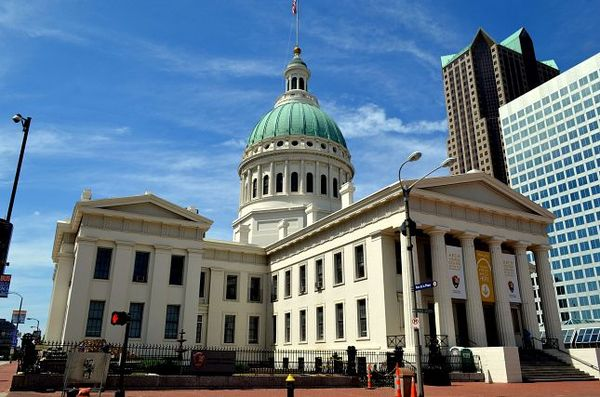 The Old Courthouse St Louis Missouri USA