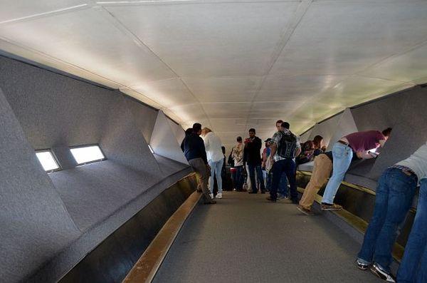 Au sommet de l'arche Gateway St Louis Missouri