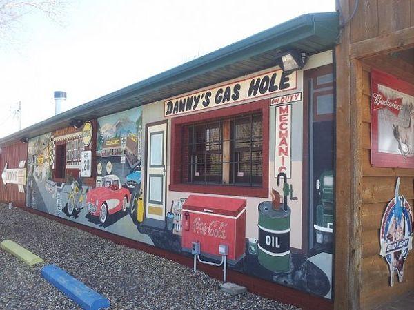 La boutique de Dan en 2013 Fanning Missouri Route 66