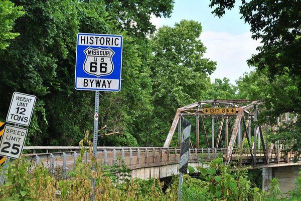 Devils Elbow Bridge Missouri Route 66