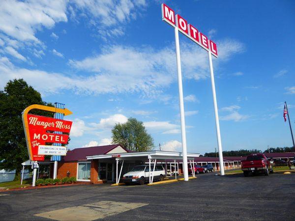 Munger Moss Motel Lebanon Missouri Route 66