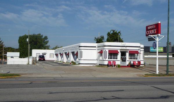 Boots Court Motel aujourd'hui Carthage Missouri