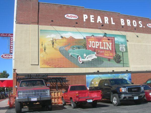 Route 66 Mural Joplin Missouri USA