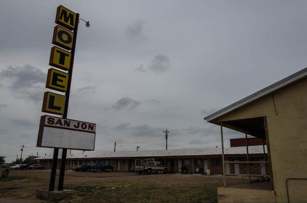 Motel à San Jon Route 66 Nouveau-Mexique