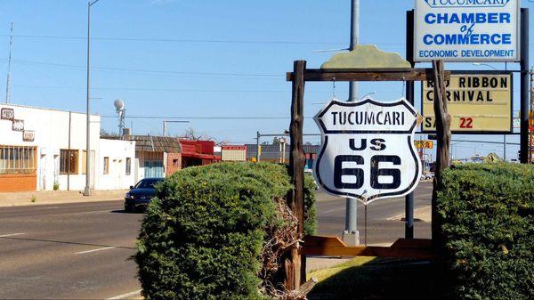 Tucumcari US 66 Nouveau-Mexique