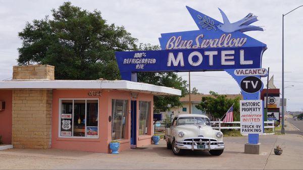 Blue Swallow Motel Tucumcari Route 66 Nouveau-Mexique