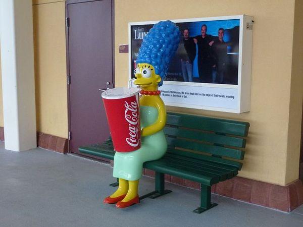 Marge Simpson Isotopes Park Albuquerque Nouveau-Mexique