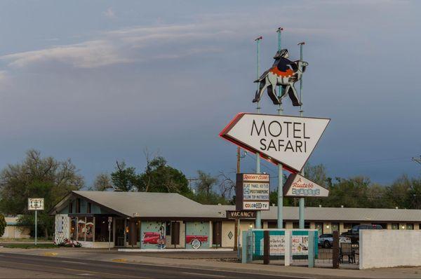 Motel Safari Tucumcari Route 66 Nouveau-Mexique