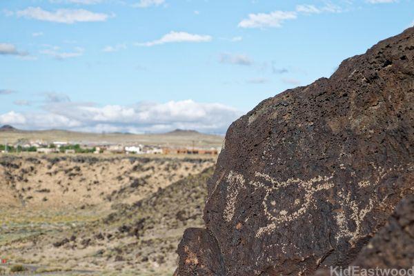 Petroglyph National Monument Nouveau-Mexique