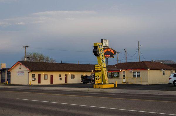 Motel Americana Tucumcari Route 66 Nouveau-Mexique