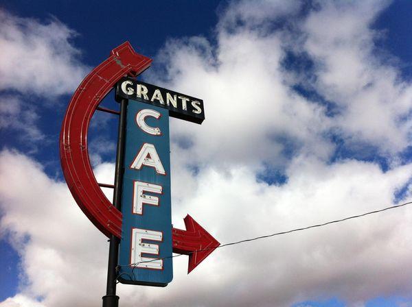 Enseigne Grands Cafe Nouveau-Mexique