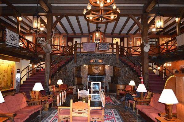 Lobby El Rancho Hotel & Motel Gallup Nouveau-Mexique