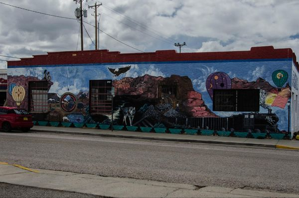 Mural Gallup Nouveau-Mexique