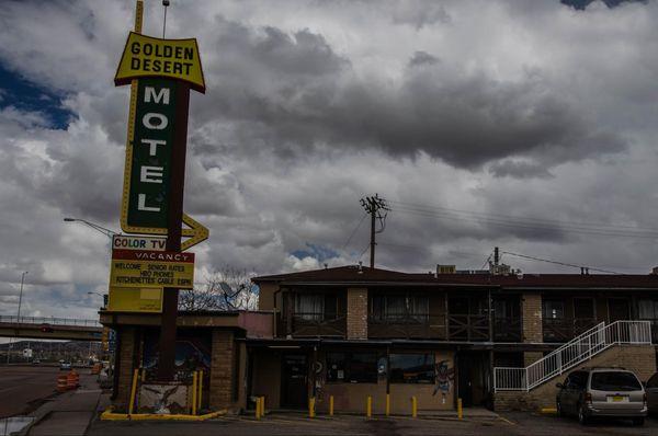 Golden Desert Motel Gallup Nouveau-Mexique