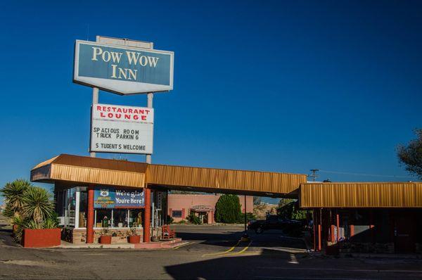 Pow Wow Inn Tucumcari Route 66 Nouveau-Mexique