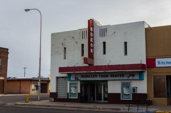 Oden Theatre Tucumcari Route 66 Nouveau-Mexique