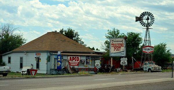 Tucumcari Trading Post Route 66 Nouveau-Mexique