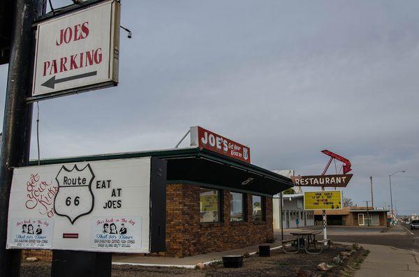 Restaurant Joe's Tucumcari Route 66 Nouveau-Mexique