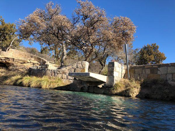 Blue Hole Santa Maria Route 66 Nouveau-Mexique