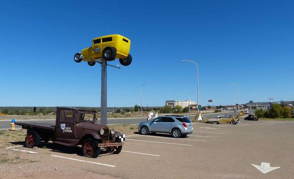 Route 66 Auto Museum Santa Maria Route 66 Nouveau-Mexique