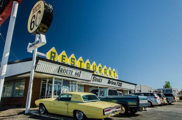 Route 66 Restaurant Santa Rosa Route 66 Nouveau-Mexique
