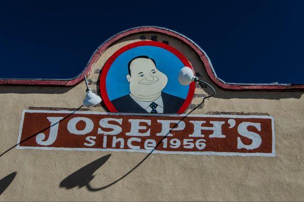 Logo Fat Man Joseph's Bar & Grill Santa Rosa Route 66 Nouveau-Mexique